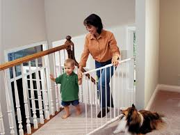 Stairs Design: Baby Gates For Stairs With Banisters Baby Gates ... Model Staircase Gate Awesome Picture Concept Image Of Regalo Baby Gates 2017 Reviews Petandbabygates North States Tall Natural Wood Stairway Swing 2842 Safety Stair Bring Mae Flowers Amazoncom Summer Infant 33 Inch H Banister And With Gate To Banister No Drilling Youtube Of The Best For Top Stairs Design That You Must Lindam Pssure Fit Customer Review Video Naomi Retractable Adviser Inspiration Jen Joes Diy Classy Maison De Pax Keep Your Babies Safe Using House Exterior