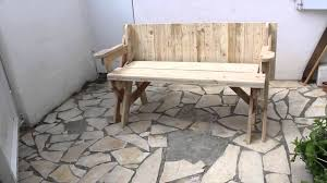 banc table convertible 2 en 1 avec plan
