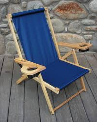 Telescope Beach Chairs With Cup Holder by The Outer Banks Beach Chair By Blue Ridge Chair