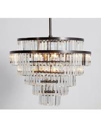 Here s a Great Price on Pottery Barn Gemma Crystal Tiered Chandelier