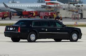 Donald Trump s presidential armored car The Beast is almost