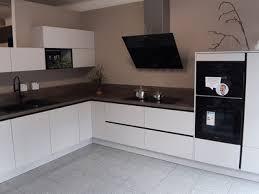 moderne grifflose l küche ohne elektrogeräte