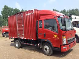 HOWO Light Duty 4X2 Cargo Truck, Van Truck Stocage Truck, Container ...
