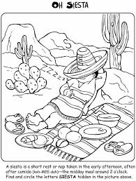 Lets Learn About MEXICO Activity And Coloring Book
