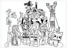 Dibujo De Star Wars El Ataque De Los Clones De Lego Para Colorear
