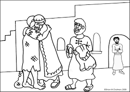 Prodigal Son Colouring Page Download Pages Of The