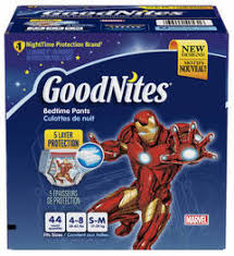 Goodnites Disposable Bed Mats by Goodnites Tru Fit Disposable Absorbent Inserts For Boys U0026 Girls