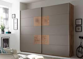 details zu schwebetürenschrank kleiderschrank schrank schlafzimmer grau eiche 270cm