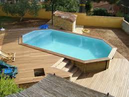 votre piscine semi enterrée 30 idées créatives swimming pools