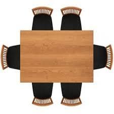 Top View Chair Vectors