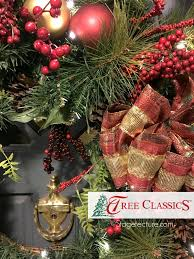 Christmas Wreath Tree Classics Stagetecture