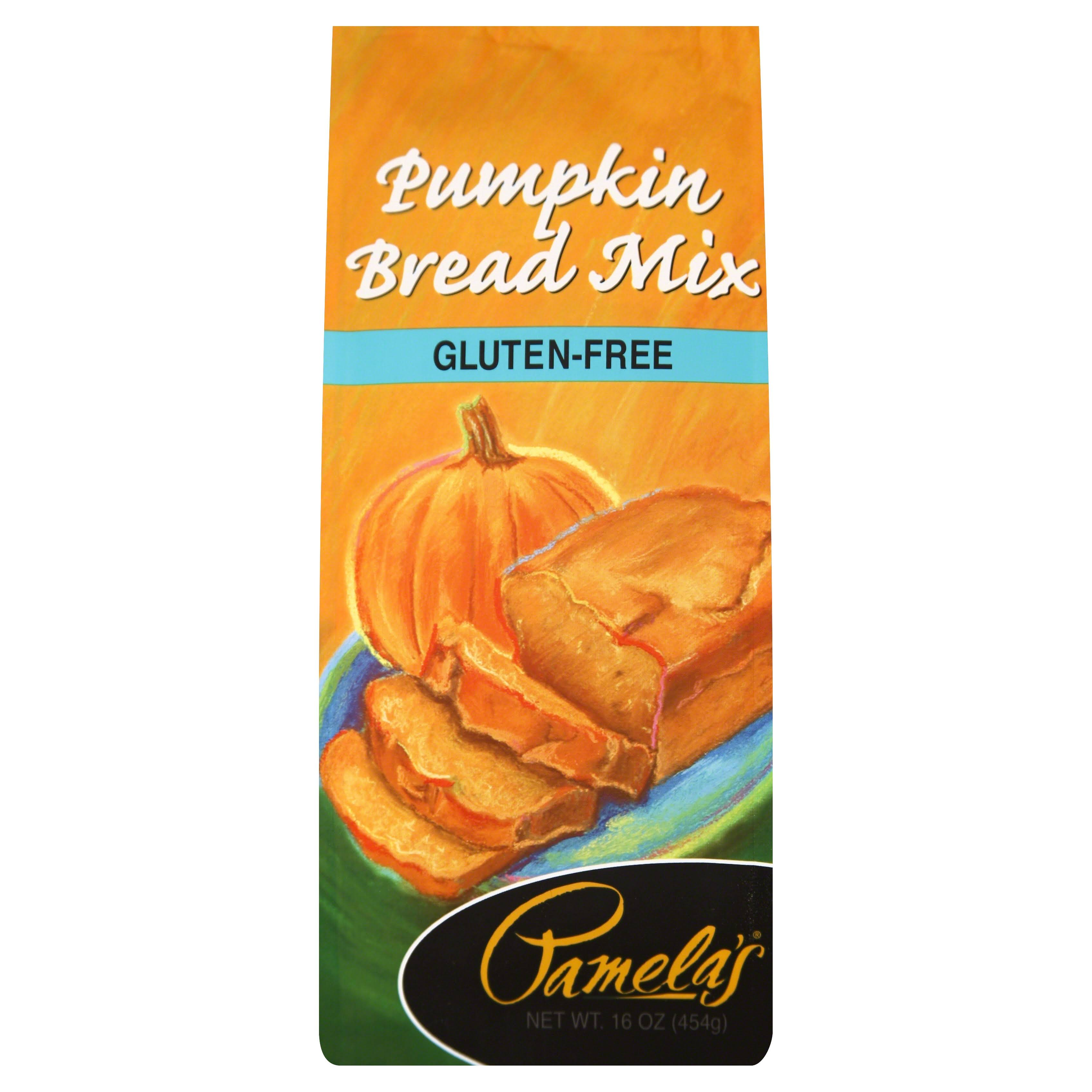 Pamela's Products Gluten Baking Mix Pumpkin Bread - 16oz