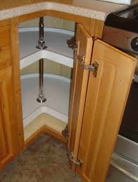 Corner Kitchen Cabinet Ideas by Kitchen Corner Cabinet Lazy Susan With Susans For Cabinets And