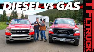 100 Diesel Truck Vs Gas Can The 2020 Ram 1500 Eco Outtow The Mighty Hemi On