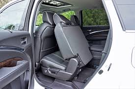 Does Acura Mdx Have Captains Chairs by 2017 Acura Mdx Elite 6 Passenger Road Test Review Carcostcanada