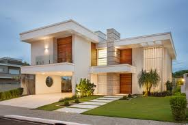 100 Beautiful White Houses Home Facade With Concrete Wood And Glass Details By