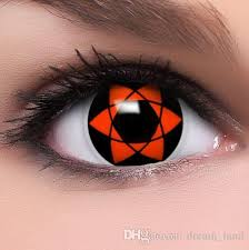 Prescription Contact Lenses Halloween Australia by Hexagram Coloured Contact Lenses Sharingan Uchiha Sasuke Cosplay