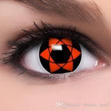 Prescription Contact Lenses Halloween Uk by Hexagram Coloured Contact Lenses Sharingan Uchiha Sasuke Cosplay
