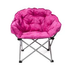 Pink Camo Zero Gravity Chair by Padded Club Chair In Pink Microfiber