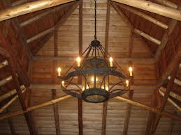 Rustic Chandeliers Wrought Iron Centralazdining