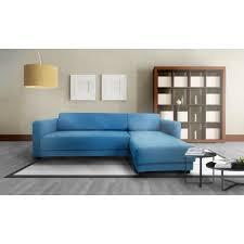 canape d angle bleu olympe canapé d angle bleu royal 4 places 205x141 cm achat vente