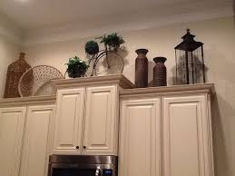 Decorating Over Kitchen Cabinets