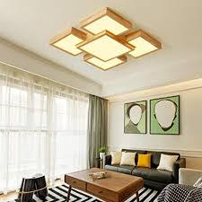 lozse dünne holzdecke wohnzimmer leuchten led deckenleuchte