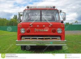 100 Ford Fire Truck Vintage Truck In Potsdam New York USA Editorial Stock Image