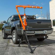 Apex Tools Apex Hydraulic Hitch-Mount Pickup Truck 1,000 Lb Jib Crane