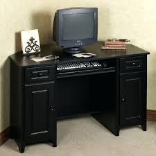 Sauder L Shaped Desk Instructions by Computer Desks Sauder Beginnings Computer Desk Black With Hutch