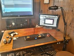 Galant Corner Desk A Leg Type by Pc Gaf I Need A New Computer Desk Neogaf