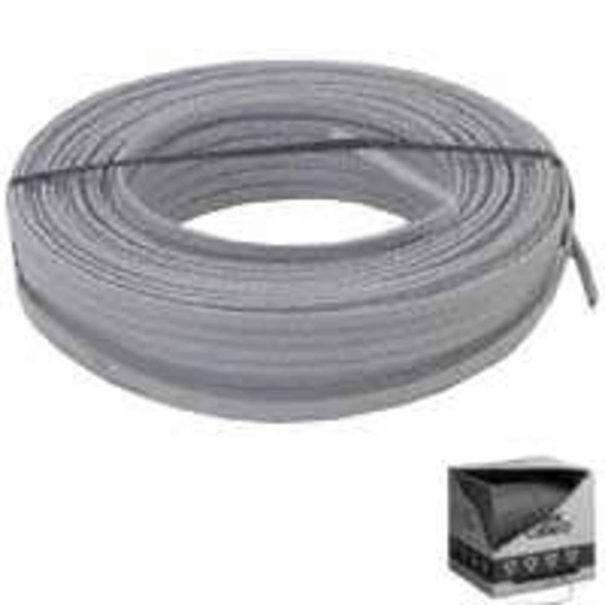Southwire CU UF-B Cable - 50 ft, 12/2, Gray
