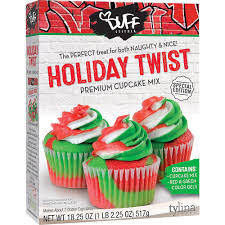 Duff Goldman Holiday Twist Cupcake Mix