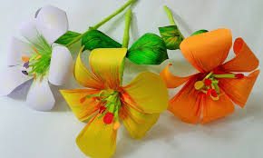 Picture Of How To Make Paper Flower