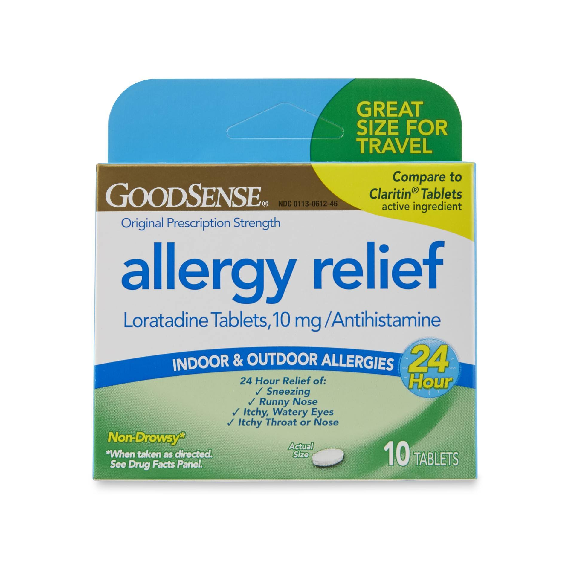 Sears.com GoodSense Prescription Strength Allergy Relief - 10 Tablets