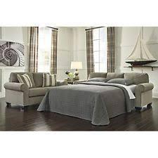 Milari Linen Queen Sofa Sleeper by Ashley Sofa Ebay