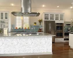 of pearl shell mosaic hexagon seashell kitchen backsplash st064