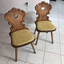voglauer sessel handbemalt stuhl original herzerlsessel