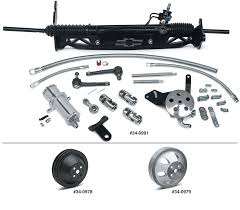 Power Rack And Pinion Steering Kit | 2 Wheel Drive - 1/2 Ton Models ...