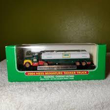 100 2004 Hess Truck Miniature Tanker MINT For Sale Online EBay