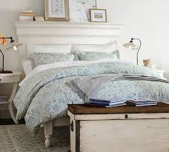 Pottery Barn Master Bedroom by Addison Bed Pottery Barn
