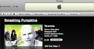 Tarantula Smashing Pumpkins Spotify by Smashing Pumpkins Itunes Killed The Album Cult Of Mac