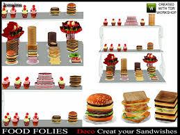 Jomsims Food Folies Deco Create Your Sandwishes