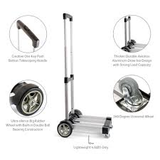 Greanos Aluminum Folding Hand Truck Light Weight Foldable Dolly Cart ...