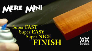 the secret to applying the fastest easiest wood finish mere