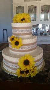 Excellent Ideas Sunflower Wedding Cakes Nice Looking Best 25 On Pinterest Country