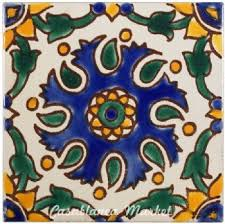 mediterranean seville ceramic tile 4x4 home kitchen