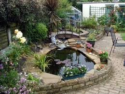 Small Backyard Pond Designs Waterfall Ideas Design Home And Very ... Very Small Backyard Pond Surrounded By Stone With Waterfall Plus Fish In A Big Style House Exterior And Interior Care Backyard Ponds Before And After Small Build Great Designs Gardens Design Garden Ponds Home Ideas Fniture Terrific How To Your Images Natural Look Koi Designs Creek And 9 To A For Goldfish