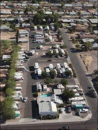 Aerial Photo Of Green Acres RV Park