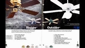 1997 casablanca ceiling fan catalog youtube